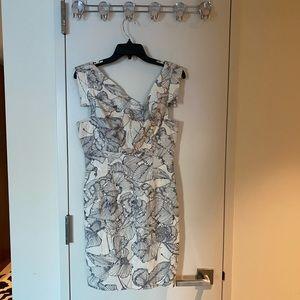 Black Halo Jackie O. Mini Dress